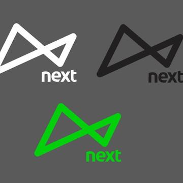 Adesivo Next Cartão Crédito Banco Logo