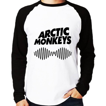 Camisa Raglan Arctic Monkeys Do I Wanna Know Manga Longa