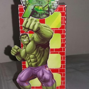 Caixa prédio - mimo de luxo Hulk