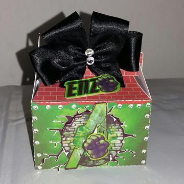 Caixa surpresa - mimo de luxo Hulk