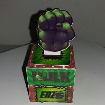 Caixa Cubo-mimo de luxo Hulk
