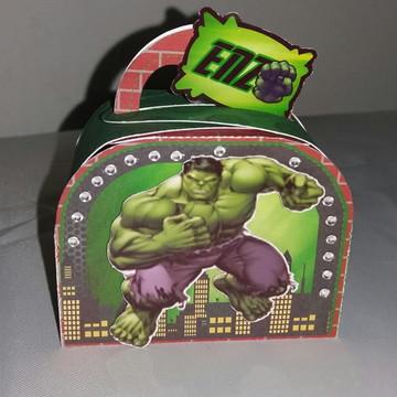 Caixa Maletinnha-mimo de luxo Hulk