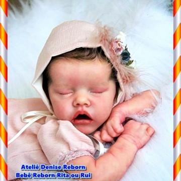 Bebê Reborn Rita Ou Rui Kit Twin A Quase Real Sem Enxoval