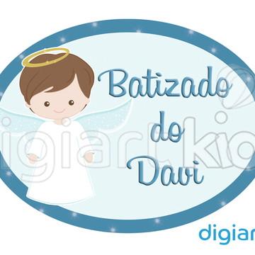 Placa Painel para Decoração Batizado