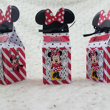 Caixa milk personalizada Minnie