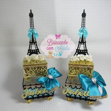 Caixa Dupla Luxo tema Paris