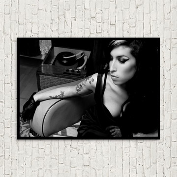 Quadro Amy Winehouse pop art