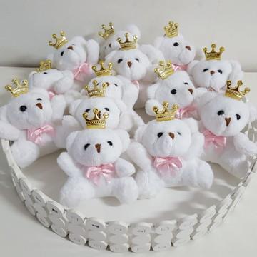 Lembrança Ursinhos Com Coroas