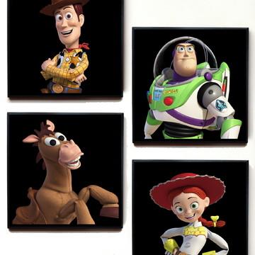 Conjunto de quadros Toy Story