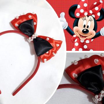 Tiara Minnie vermelha