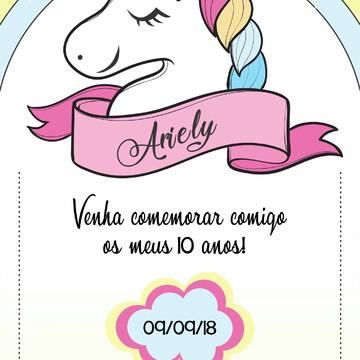 Convite Digital - Aniversário de Criança