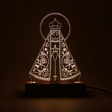 Luminária LED Bilvot - Nossa Senhora Aparecida