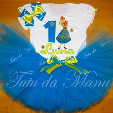Fantasia Tutu Frozen Fever Ana