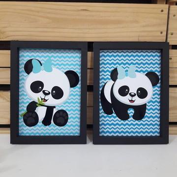 Quadrinho Panda
