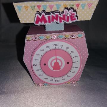 Balança Minie - Mimos de luxo Minie Confeiteira
