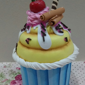 Cupcake - Porta Objetos