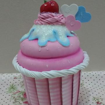 Cupcake Porta Objetos.