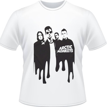 Camiseta Arctic Monkeys Melt Rock Masculina