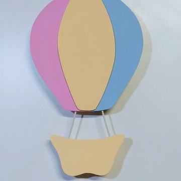 Balão Com Led Para Enfeite Parede Quarto De Bebe