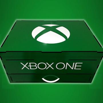 Porta jogos e controles Xbox One