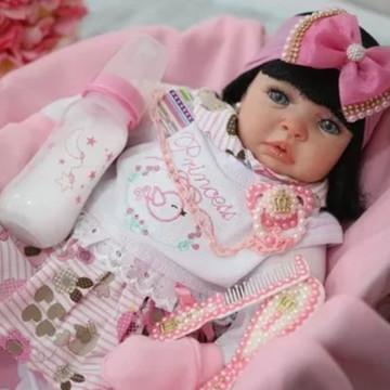 Bebê Reborn Loirinha Boneca Barata Pronta Entrega