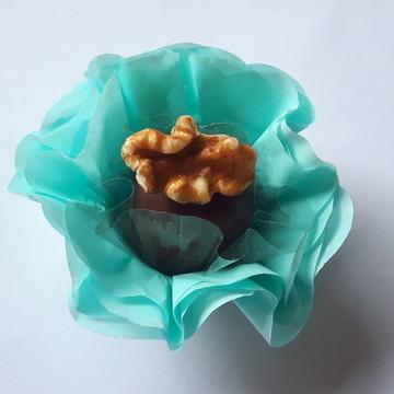 50 Forminhas para Doces Finos Azul Tiffany