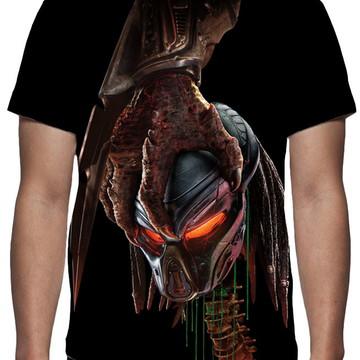 Camiseta - Filme Predator - Estampa Total