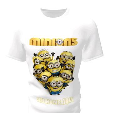 Camiseta Camisa Blusa Personalizada Malvado Favorito Minions