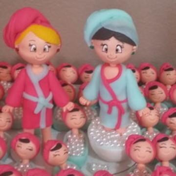 bonecas clinica estetica e banheiro