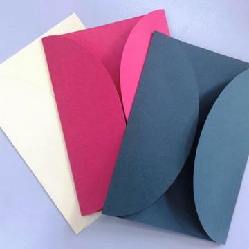 Envelope 180 Gramas Fosco Color Convite Casamento Ev48