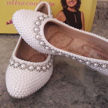 b3a3641398 Sapato de Pérolas