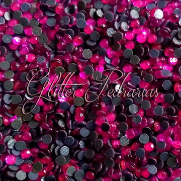 Strass pink 4mm (aprox 100un)