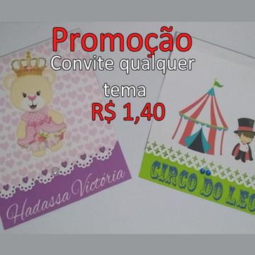 Promoção Convites