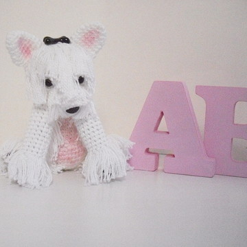Amigurumi - West Highland White Terrier