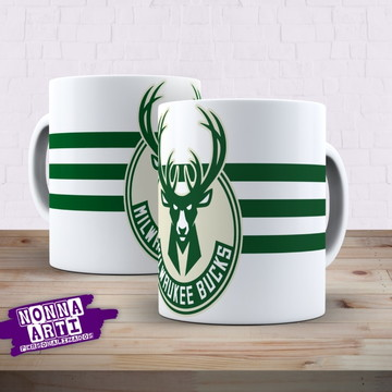 Caneca Milwaukee Bucks