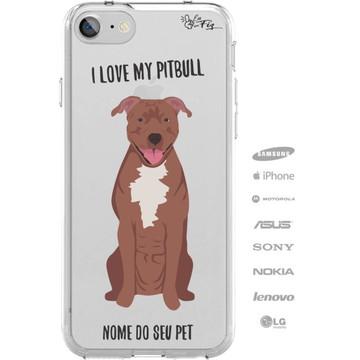 Capinha Personalizada Nome - Meu cachorro Pitbull