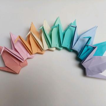 Tsuru Avulso | 13 cm | Decoração em Origami