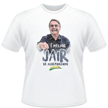 Camiseta É melhor Jair se acostumando Masculina P md 01