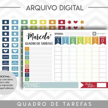 Quadro de Tarefas -Arquivo Digital