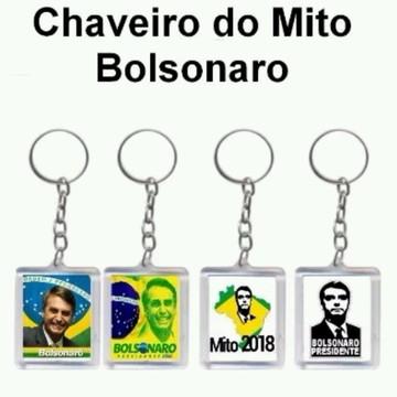 Chaveiro Personalizada Jair Bolsonaro