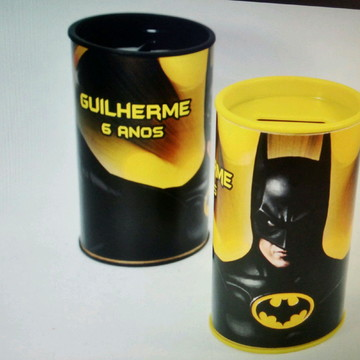 Cofre redondo pers - Batman
