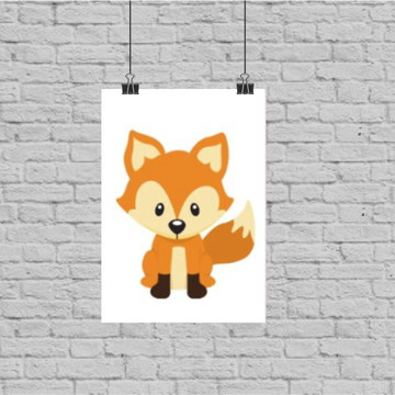Poster digital raposinha