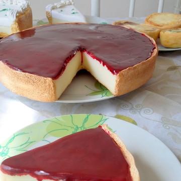 Torta romeu julieta de biscuit