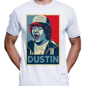 Camiseta Dustin Stranger Things Série 3337