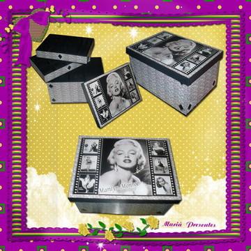 Marilyn caixa de bijuterias