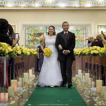 Decoração Cerimonial - Casamento em Igreja