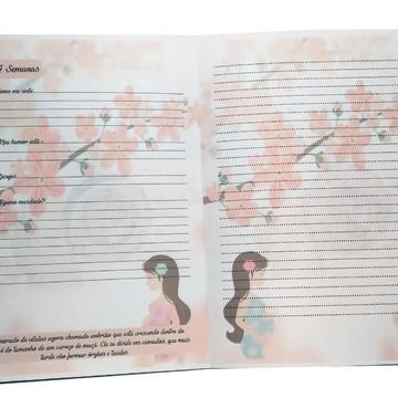 Miolo impresso Diario de Gravida - AI055 75gr
