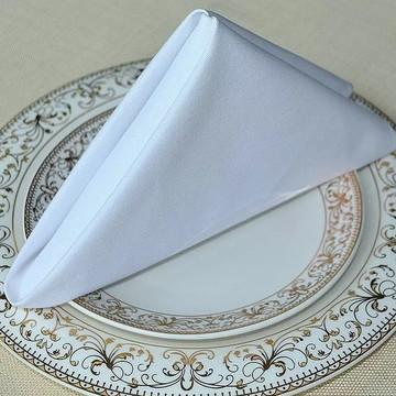 Guardanapo No Tamanho 0,30 X 0,30 Oxford Branco Buffet
