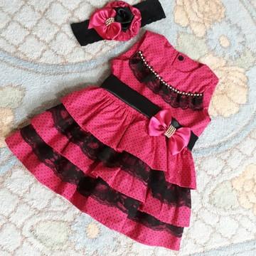 Vestido para recem nascido