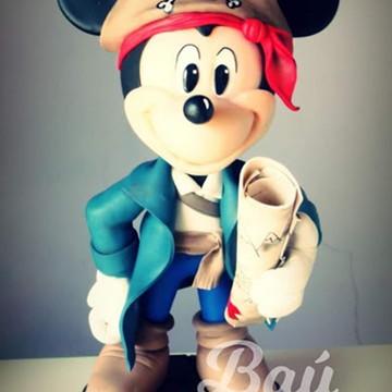 Enfeite de Mesa Mickey Pirata